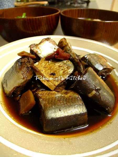 DSCF11・18秋刀魚のサッパリ煮3