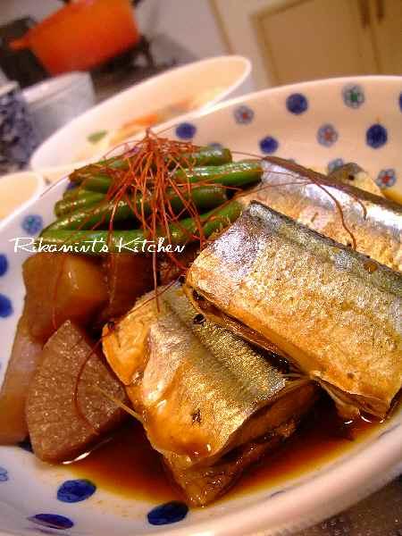 DSCF12・8秋刀魚のコチュジャン煮3