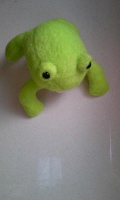 カエル 人形