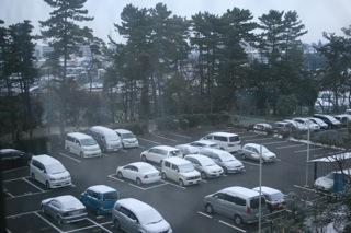 雪が降った01/17