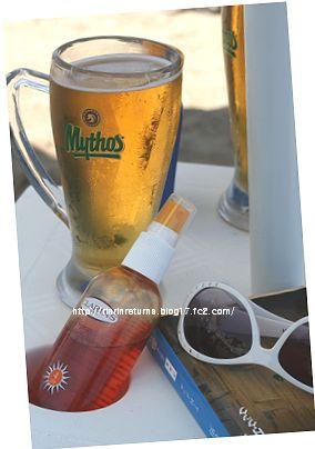 海・太陽・ビール