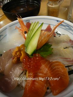 海鮮チラシ