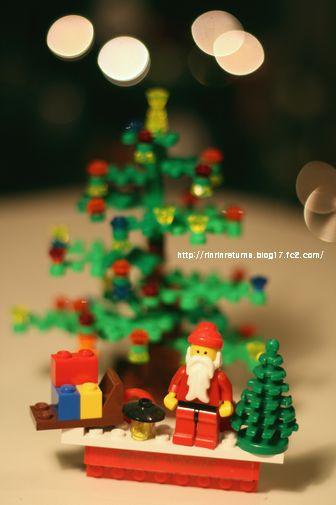 レゴでX'mas