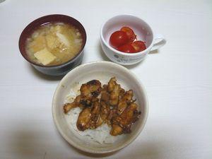 2007/08/29晩御飯