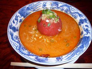 2007-09-09トマト坦坦麺