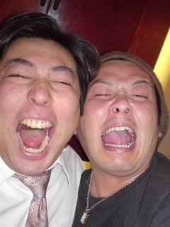 オレ(左)と山ちゃん