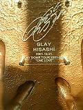 GLAYのHISASHIさん(の手形)
