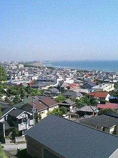 茅ヶ崎の海岸線