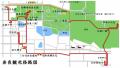 奈良観光径路図