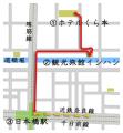 ホテルくら本→観光旅館イシハシ→近鉄日本橋駅