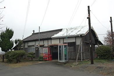 北条鉄道、法華口駅駅舎(WB;太陽光)
