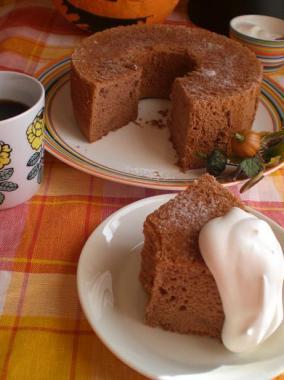 chiffon cake**