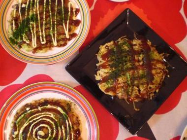 okonomiyaki*