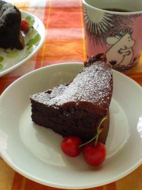 gateau classique au chocolat*