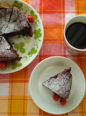 gateau classique au chocolat**