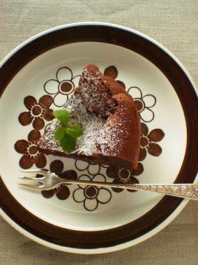 Anemon×gateau classique au chocolat