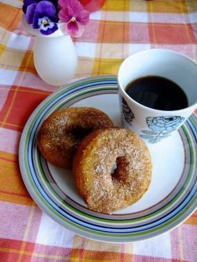 okara cinnamon doughnut