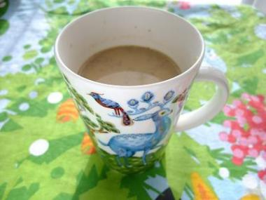 ginger milk tea×Satumetsa