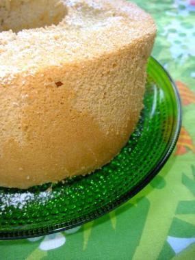 Earl grey chiffon cake×kastehelmi