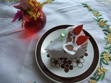 tedukuri cake!!