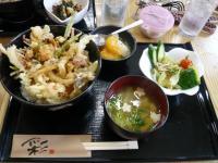 海鮮かき揚げ丼セット(コーヒー付)850円