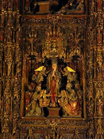 カテドラルの祭壇(セビーリャ)
