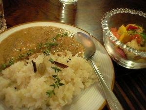 081025夕飯カレー