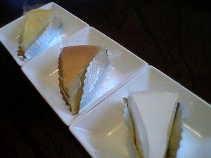 081124Dante・チーズケーキ