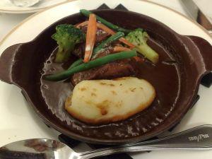 090306サンマルクカフェ・頬肉のソテー