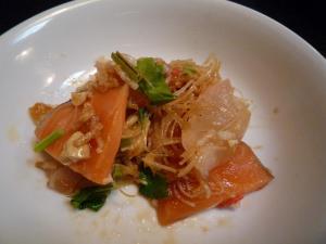 中華刺身サラダ