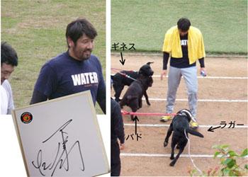 犬と下柳さん