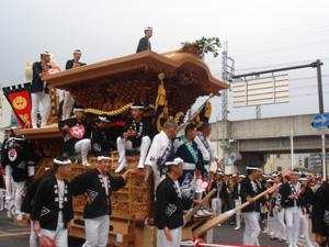 平成19年7月22日 藤井町入魂式 祭花撮影分