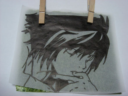 海苔アート作り方3
