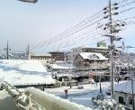 雪だっっちゃv