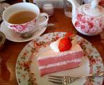 ケーキうまー