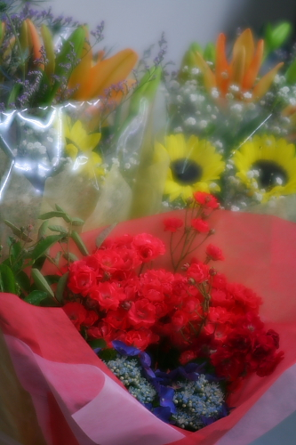 お花のプレゼントってうれしいよね~~