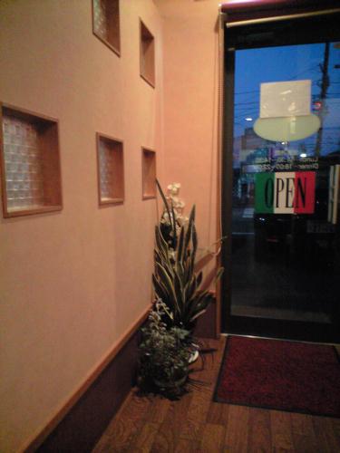 壁と天井の色合いがとてもステキな雰囲気のお店