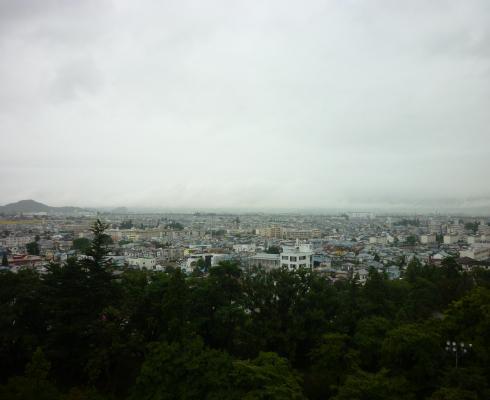 天守からの眺め3