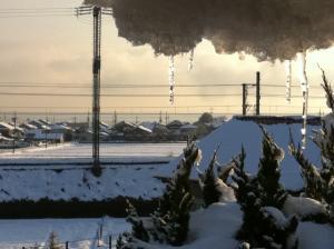 2012年2月18日 雪