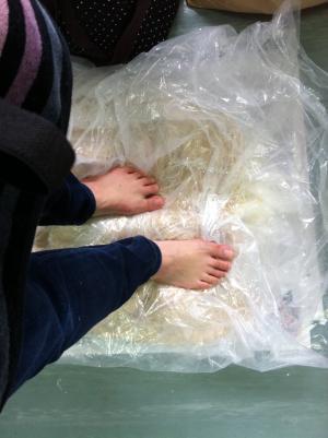 味噌作り体験 H24年2月25日