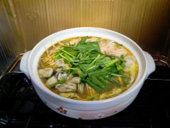 牡蠣入り鍋