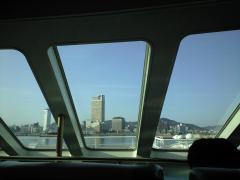 高松港へ到着