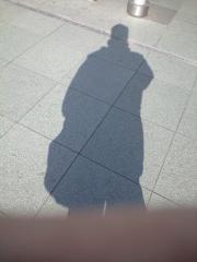 高松駅にて影