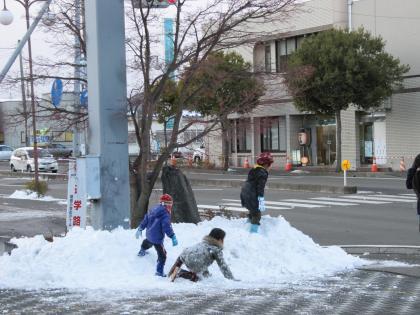 雪の日ミニ