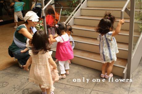 こわにさん(のどかちゃんママ♪)に群がる子どもたち