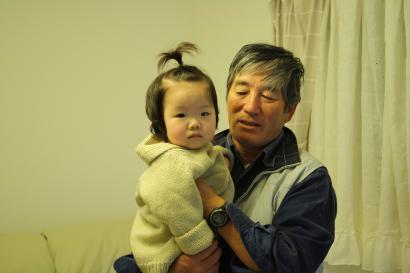 父 と いち (なかなか貴重な1枚♪)