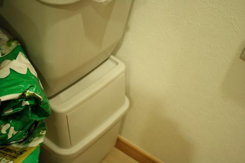いちの大好きなゴミ箱