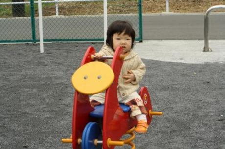 公園にて☆