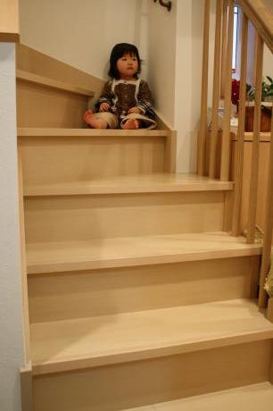祝☆階段4段昇り