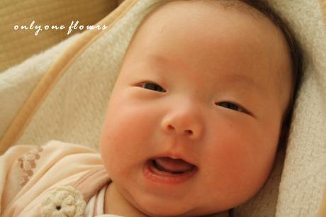 生後100日の変顔